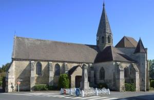 L'église vue du sud-ouest (2017)