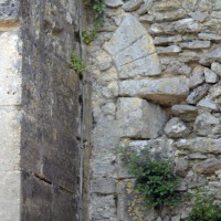 Fenêtre romane de la nef (2017)