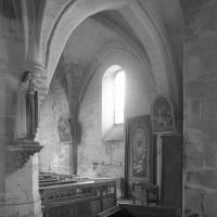 Vue partielle de la chapelle sud vers le sud-est (1996)