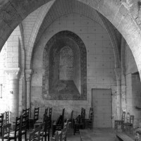 Le mur sud de la première travée vu vers le sud (2000)