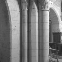 Retombée de la voûte à la jonction des première et deuxième travées (2000)