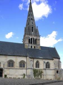 Vue partielle de l'église depuis le sud (2019)