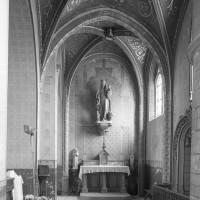 La chapelle de la Vierge vue vers l'est (2000)