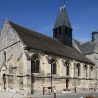 L'église vue du sud-ouest (2016)
