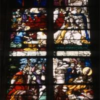 Vitrail de l'Histoire de saint Vast (1997)