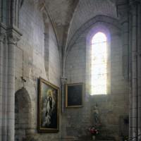 Le bras nord du transept vu vers le nord-ouest (2017)