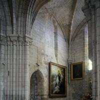 Vue partielle de la croisée et du bras nord du transept vers le nord-ouest (2017)