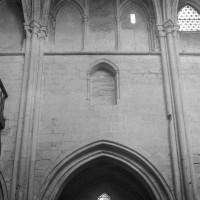 L'élévation d'une travée du mur nord de la nef (1997)