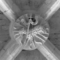 La clef de voûte de la première travée du choeur (1997)