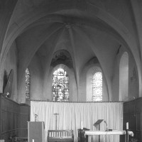 L'abside vue vers l'est (1997)