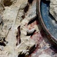 Détail du tympan du portail ouest (2000)