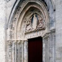 Le portail ouest vu du sud-ouest (2000)