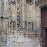 Le piédroit de gauche du portail ouest (2019)