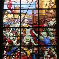 Vitrail de la Vie de Jeanne d'Arc (2019)