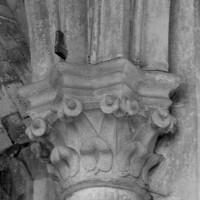 Retombée des voûtes du bas-côté vers le mur extérieur (1997)