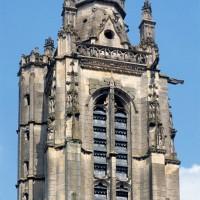 Vue partielle de la tour depuis l'ouest (1997)
