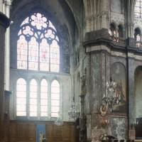 Le bras nord du transept vu vers le nord-est (1997)