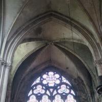 La voûte sexpartite du bras nord du transept (2019)