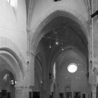 Les parties orientales de l'église vues vers le nord-est (2000)