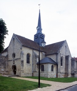 L'église vue du sud-ouest (2000)