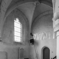 Vue partielle de la chapelle sud vers le sud-ouest (2000)