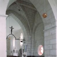 La travée du clocher vue vers le nord-ouest (2008)