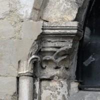Chapiteau de gauche de la première arcade de la chapelle sud (2017)
