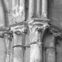 Chapiteaux à la retombée sud du second arc doubleau du choeur (1996)