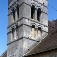 Le clocher vu du sud-est (1996)