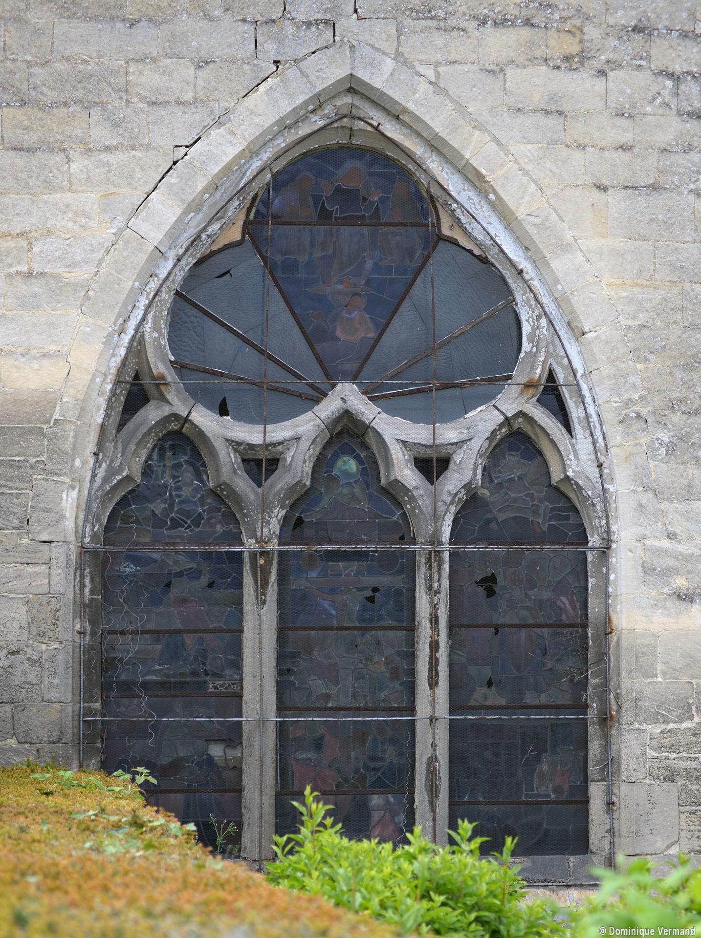 Cramoisy glise saint martin eglises de l 39 oise for Fenetre gothique