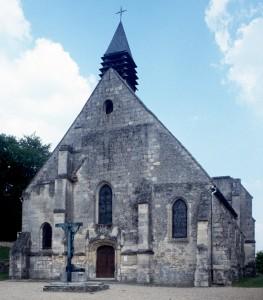L'église vue du sud-ouest (1995)