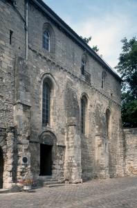 La chapelle vue du sud-ouest (1995)