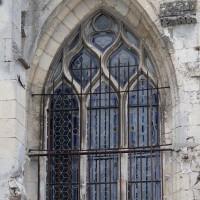 Fenêtre du 16ème siècle au faux croisillon nord (2016)