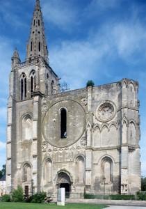 La façade vue du sud-ouest (1995)