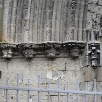 Les chapiteaux des piédroits de gauche du portail sud (2016)