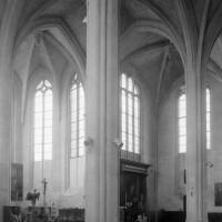 Le choeur et l'abside vus vers le sud-est (1994)