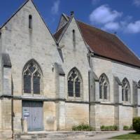 Vue partielle de l'église depuis le sud-ouest (2017)