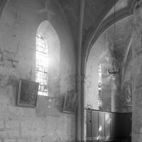Vue partielle de la chapelle nord vers le nord-est (1997)