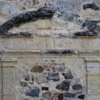 Porte du 17ème siècle à la façade ouest (2019)