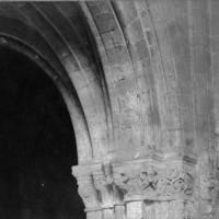 Bas-côté de la nef avant sa démolition