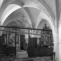 La chapelle nord vue vers le sud-est (1995)