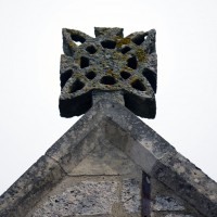 Croix antéfixe de la façade (2016)