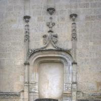 Le portail de la chapelle nord (2016)