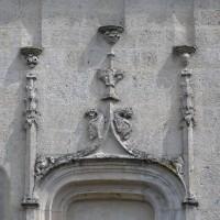Détail du portail de la chapelle nord (2016)