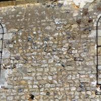 Fenêtres du mur sud de la nef (1972)