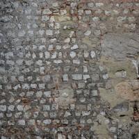 Appareil du mur sud de la nef (2016)