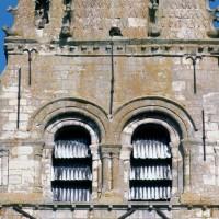 Le second étage du clocher vu de l'ouest (1995)