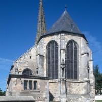 L'église vue de l'est (1995)