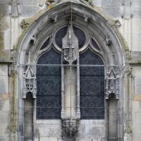 La fenêtre de la partie centrale de la façade ouest (1995)