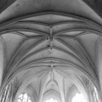 La voûte du choeur et de l'abside du 16ème siècle (1995)
